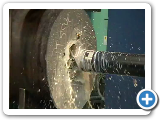 Drilling (pilot bore) large capacity CNC drilling.